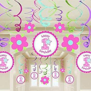 baby first birthday decorations uk