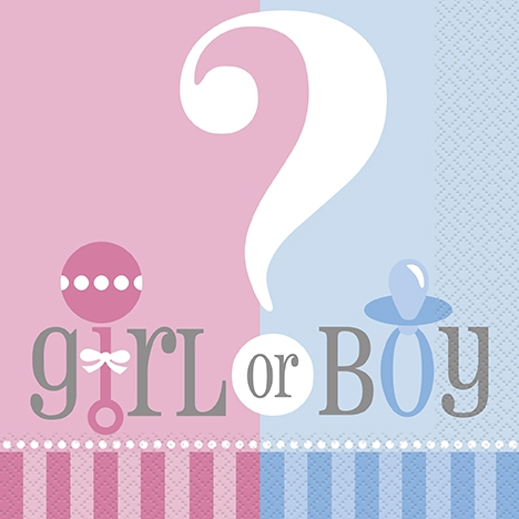 Gender Reveal - Neutral Themes - Baby Shower Tableware - Baby Shower