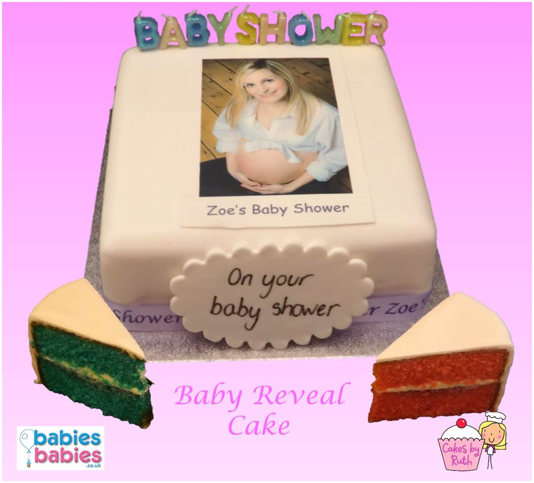 Our lovely baby shower cakes are made locally by specialist bakers ...