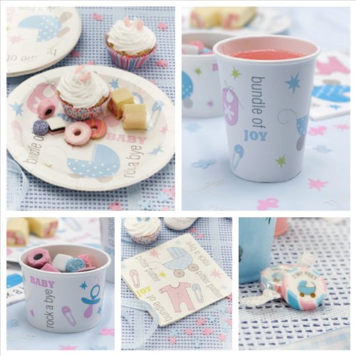 Baby Shower Tableware And Themes