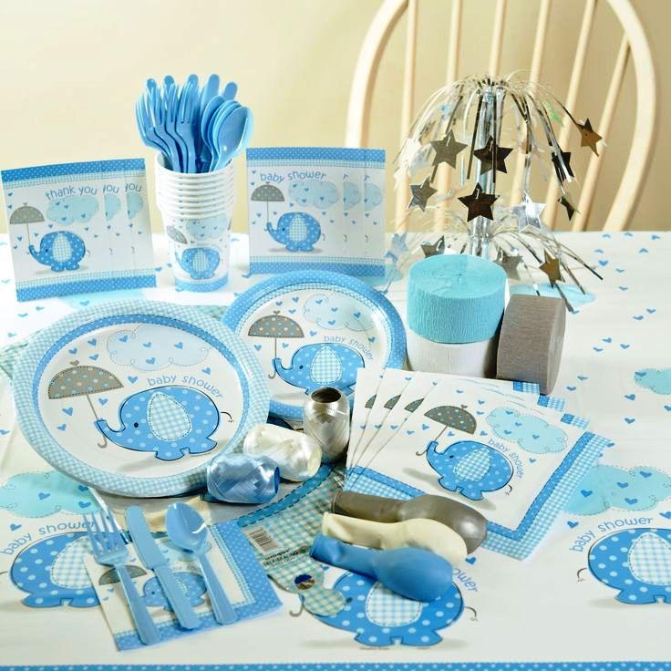 Baby Boy Theme Tableware