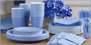 Blue Tableware