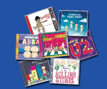 Chart Artist Baby Lullaby CDs