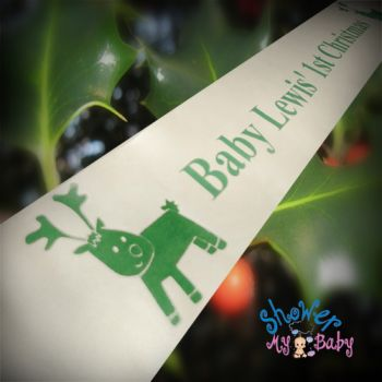 Personalised Christmas Banners, Ribbons and Santa Sacks