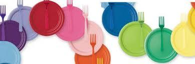Plain Coloured Tableware