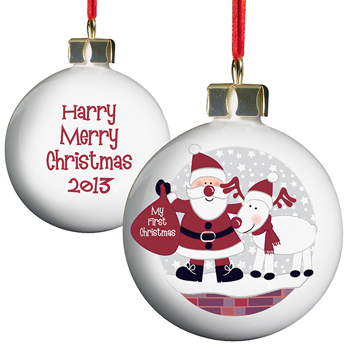 Personalised Baubles