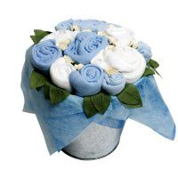 Beautiful Sock & Clothes Bouquets