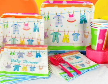 Baby Clothes Line Tableware