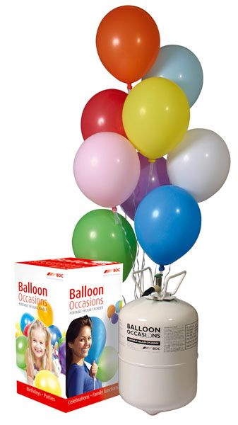 Helium, Balloon Weights & Curling Ribbon