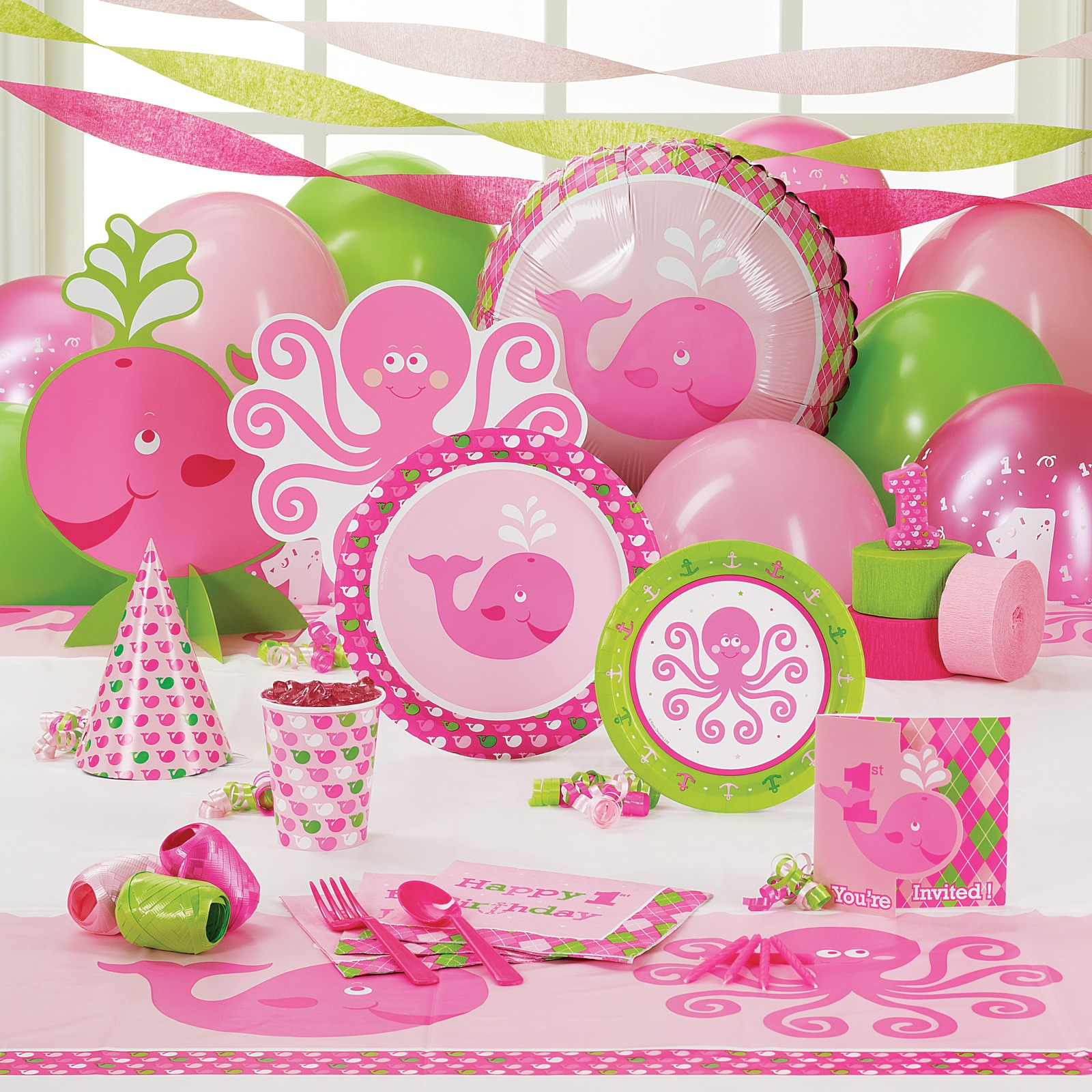 Girl's First Birthday