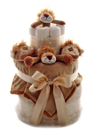 Eco Friendly Nappy Cakes
