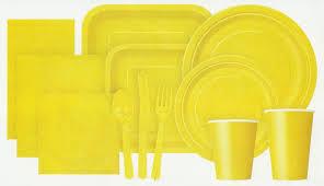 Sunshine Yellow Tableware