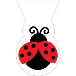A Ladybird Shaped Cello Party Bag