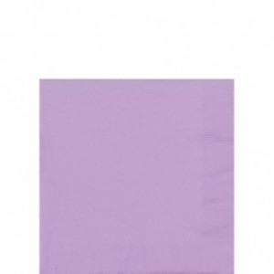 Lilac Napkins - 20 pack