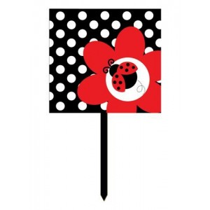 Ladybird Lawn Sign