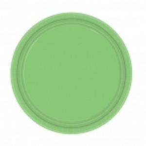 Kiwi Green Plates (24)