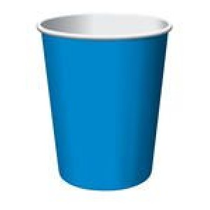 Bright Blue Cups (24)