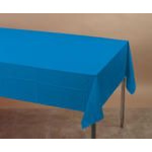 Bright Blue Large Tablecover