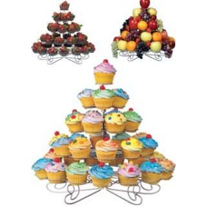 A 38 Count Cup Cake Stand
