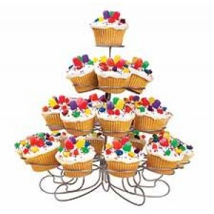 A 23 Count Cup Cake Stand