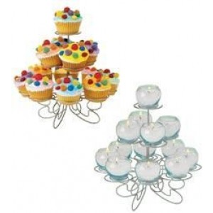 A 13 Count Cup Cake Stand
