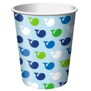 A Pack of 8 Ocean Boy Cups