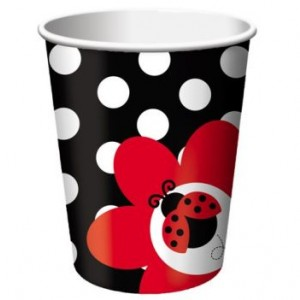 A Pack of 8 Ladybird Hot/Cold Cups