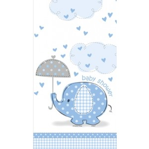 Boy Umbrellaphants Tablecover