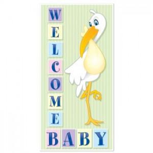 Baby Door Sign