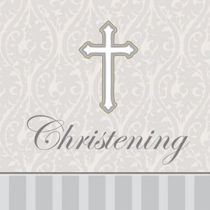Devotion Christening Day Napkins