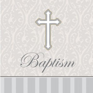 Devotion Baptism Napkins