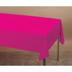 Hot Magenta Pink Table Cover