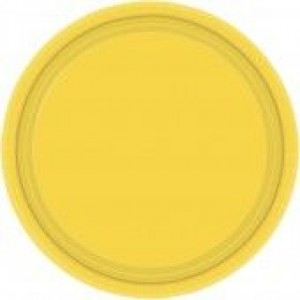 Sunshine Yellow Plates