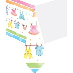 baby clothes line tablecover