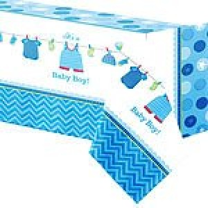 Baby Boy Clothes Line Tablecover