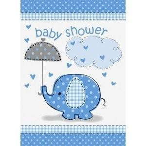 Boy Umbrellaphants Invitation