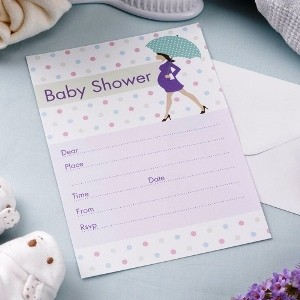 showered with love invitations