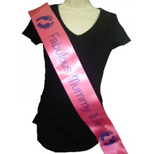 Baby Shower Sashes