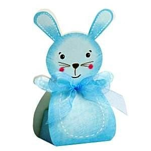 A Rabbit Panda Shaped Favour Box
