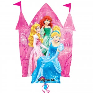 Disney Princesses and Animals Foil Balloon