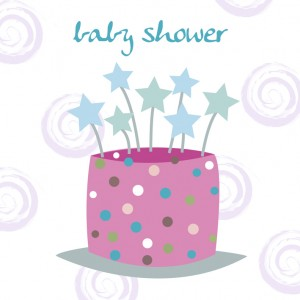 A Baby Shower Celebration Greeting Card
