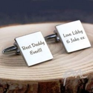 Best Daddy Ever Square Cufflinks