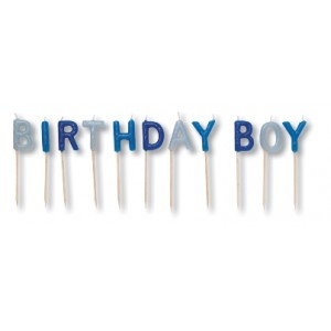 Birthday Boy Candles