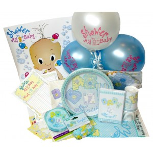 A Baby Boy Stitchings Complete Party Pack