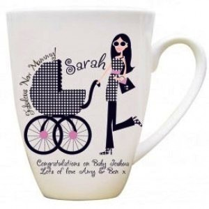 A Fabulous New Mummy Personalised Mug