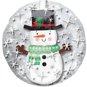 """Snowman Insider Balloon - 24"""" Foil"""