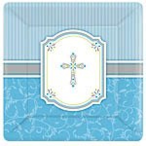 COMMUNION BLESSINGS BLUE PLATES