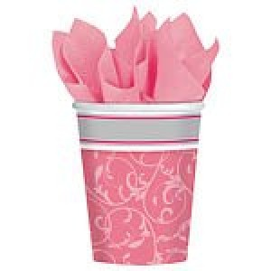 Communion Blessings Pink Cups
