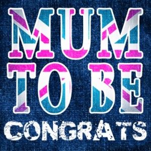 mum to be congratulations card