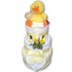 Little Ducky Nappy Cake
